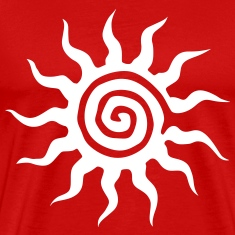 The symbol of the sun T-Shirts