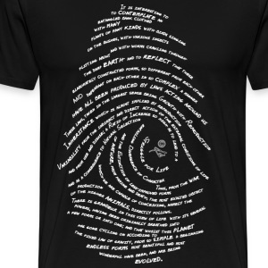 Darwin's Fingerprint by Tai's Tees - Men's Premium T-Shirt