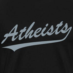 Atheists team logo T-Shirts - Men's Premium T-Shirt