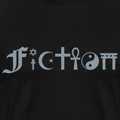 FICTION (Coexist alternative) T-Shirts