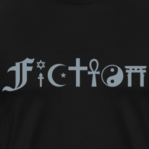 FICTION (Coexist alternative) T-Shirts - Men's Premium T-Shirt