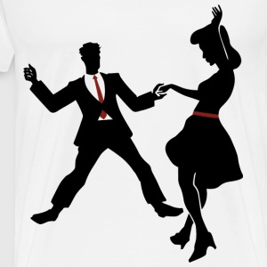 swing dance - Men's Premium T-Shirt