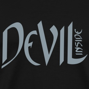 Devil inside Horror Shirt T-Shirts - Men's Premium T-Shirt