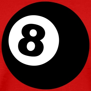 Eight Ball T-Shirts - Men's Premium T-Shirt