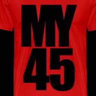 Design ~ My 45 Behind Me ( a DJ Tee) Mens T Shirt