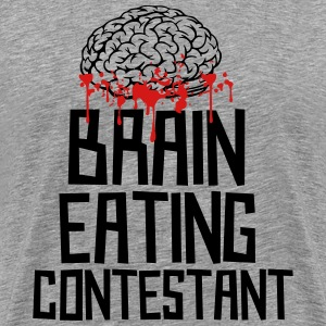 Brain Eating Contestant - Men's Premium T-Shirt