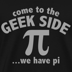 Come To The Geek Side - Men's Premium T-Shirt