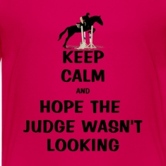 Keep Calm and Hope The Judge Wasn't Looking Kids' Shirts
