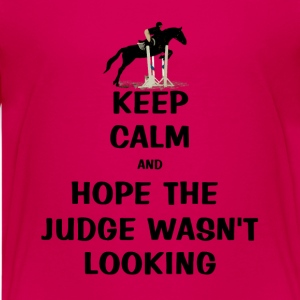 Keep Calm and Hope The Judge Wasn't Looking Kids' Shirts - Kids' Premium T-Shirt