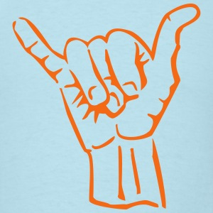 hand sign T-Shirts - Men's T-Shirt