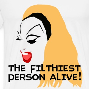 divine: the filthiest person alive T-Shirts - Men's Premium T-Shirt
