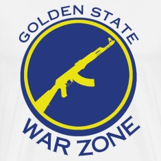 Golden State Warzone - Laney 5s shirt T-Shirts