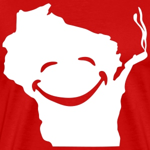 Wisconsin Smokin T-Shirts - Men's Premium T-Shirt