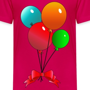 Balloons (add your own text) - Toddler Premium T-Shirt
