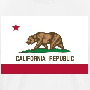 Flag of California - Men's Premium T-Shirt