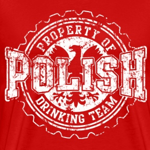 Polish Drinking Team - Men's Premium T-Shirt