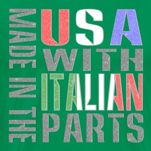 Made in USA Italian Parts T-Shirts - Men's Premium T-Shirt