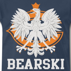 Bearski Polish Chicago Fan - Men's Premium T-Shirt