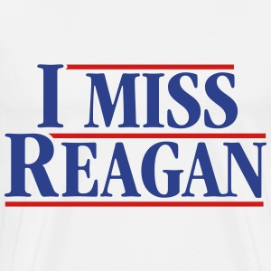 I Miss Reagan - Men's Premium T-Shirt