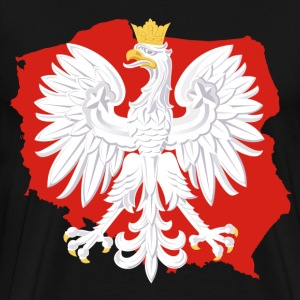 Poland White Eagle - Men's Premium T-Shirt