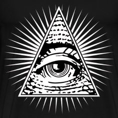 illuminati eye of providence T-Shirts