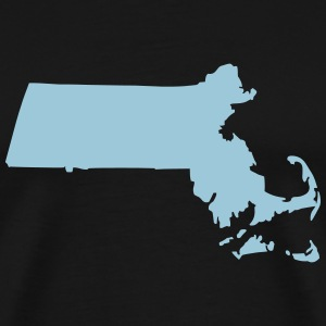 State of Massachusetts T-Shirts - Men's Premium T-Shirt