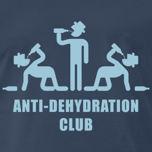 Anti-Dehydration Club (Party) T-Shirts - Men's Premium T-Shirt