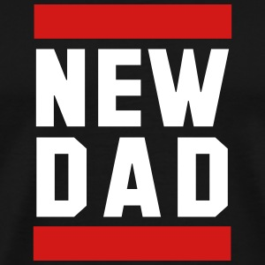 NEW DAD Funny Pregnancy Design T-Shirt WB - Men's Premium T-Shirt
