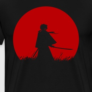 Red Moon Samurai - Men's Premium T-Shirt