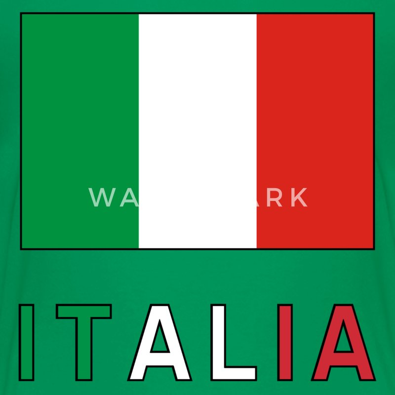 Italian Flag and Italia T-Shirt | Spreadshirt