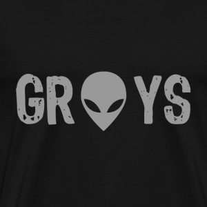 greys T-Shirts - Men's Premium T-Shirt