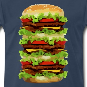 XXL Hamburger Shirt - Men's Premium T-Shirt