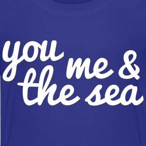 you, me and the sea Kids' Shirts - Kids' Premium T-Shirt