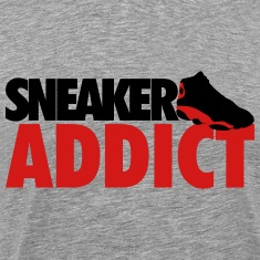 sneaker addict bred T-Shirts