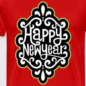 HAPPY NEW YEAR TSHIRT - Men's Premium T-Shirt