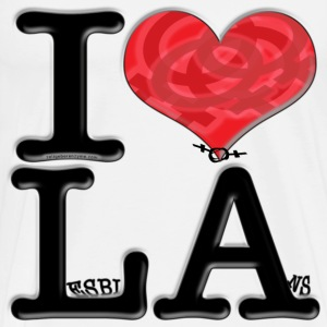 I Love LA - LesbiAns (for light-colored apparel) T-Shirts - Men's Premium T-Shirt
