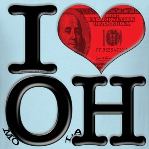 I Love OH - moOlaH (for light-colored apparel) T-Shirts - Men's T-Shirt