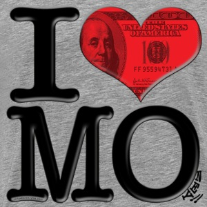 I Love  - MOney (for light-colored apparel) T-Shirts - Men's Premium T-Shirt