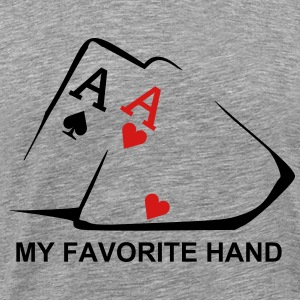 Favorite Hand - Men's Premium T-Shirt