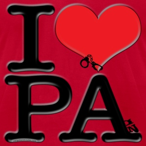 I Love PA - PAin (for light-colored apparel) T-Shirts - Men's T-Shirt by American Apparel