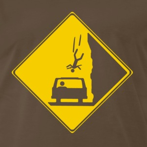Watch for Falling Ninjas T-Shirts - Men's Premium T-Shirt