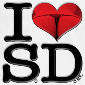 I Love SD - SoDomy (for light-colored apparel) T-Shirts - Men's Premium T-Shirt