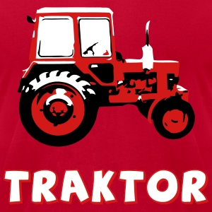 Traktor - the classic soviet MTZ - Men's T-Shirt by American Apparel