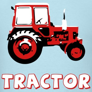 Tractor - the classic soviet MTZ - Men's T-Shirt