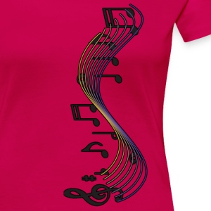 Music - Women's Premium T-Shirt