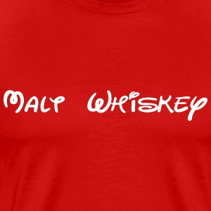 Malt Whistkey - Men's Premium T-Shirt