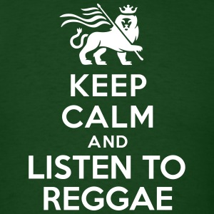 Keep calm and listen to Reggae T-Shirts - Men's T-Shirt