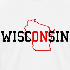 WiscONsin T-Shirts - Men's Premium T-Shirt
