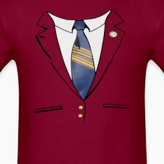 Ron Burgundy Suit T-Shirts