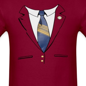 Ron Burgundy Suit T-Shirts - Men's T-Shirt